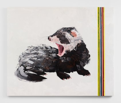 Kirsten Everberg, Ferret, Life Still, 1301PE; Image courtesy of the gallery