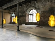 Anicka Yi, Venice Biennale; Photo credit Sydney Walters