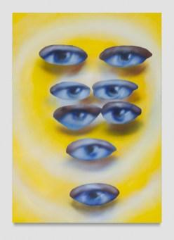 Austin Lee, Human Eyes, Punch Curated by Nina Chanel Abney, Jeffrey Deitch; Photo credit Elon Schoenholz