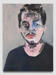 Henry Taylor, Untitled (Stephen Serrato), Punch Curated by Nina Chanel Abney, Jeffrey Deitch; Photo credit Elon Schoenholz