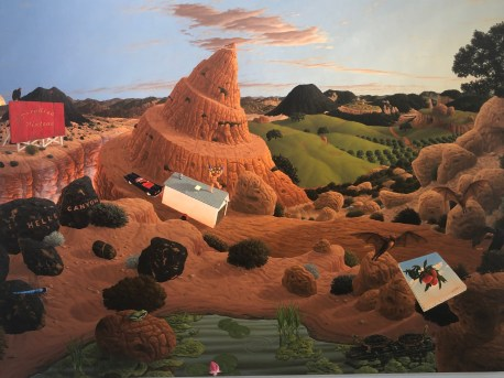 Steve Galloway, Narrative Painting in Los Angeles, Craig Krull Gallery; Photo credit Betty Brown