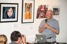 Los Angeles Center of Photography, Sam Abell Lecture; Photo credit Kasia Czerski
