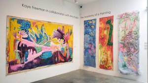 Amy Kaps and Kaye Freeman, LA Painting, MOAH; Photo credit Kristine Schomaker