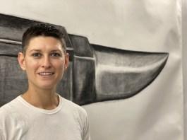 Julia Montgomery, Brewery Artwalk; Photo Credit Dani Dodge