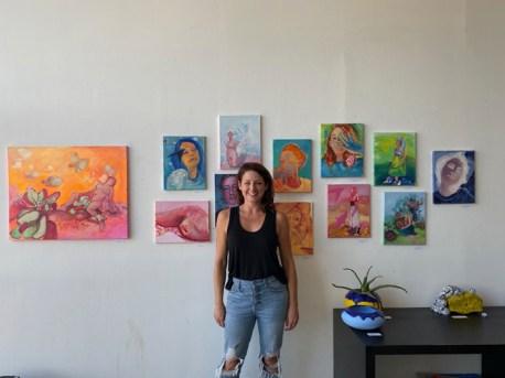 Melissa Dyanne, Brewery Artwalk; Photo Credit Dani Dodge
