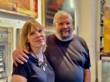 Susan Savory and Bruce Dean, Brewery Artwalk; Photo Credit Dani Dodge