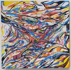 Juan Carlos Muniz Hernandez, LA Painting, MOAH; Photo credit Kristine Schomaker