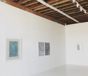 Pamela Hudson Smith, Marking Space, Chimento Contemporary; Photo credit Sydney Walters