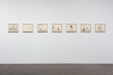 Resilience: Philip Guston in 1971, Hauser & Wirth Los Angeles; Image courtesy of the gallery