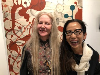 Kaoru Mansour and Kira Vollman,Uncommon Denominators, ARK Gallery; Photo credit Betty Brown