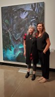 Virginia Broersma and Cindy Rehm, These Creatures, Wignall Museum of Contemporary Art; Photo credit Jacqueline Bell Johnson
