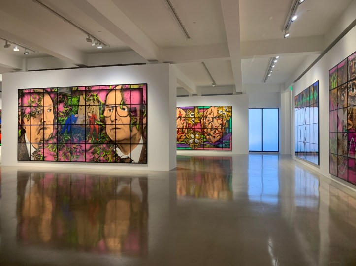 Installation view II, Gilbert _ George, THE PARADISICAL PICTURES, Spruth Magers