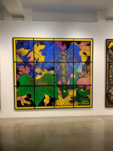 Gilbert & George, LEFT BEHIND, PARADISICAL PICTURES, Spruth Magers; Photo credit Sydney Walters