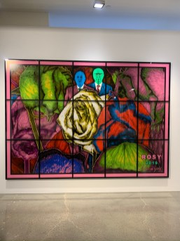 Gilbert & George, ROSY, PARADISICAL PICTURES, Spruth Magers; Photo credit Sydney Walters