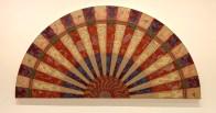 Miriam Schapiro, Barcelona Fan, With Pleasure: Pattern and Decoration in American Art 1972–1985, MOCA Grand Avenue; Photo credit David S. Rubin