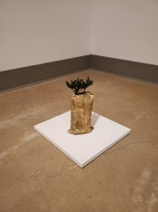 Hilary Norcliffe, Lost (Bread Crumbs), St. Broxville Wood: Into the Thicket, Kellogg University Art Gallery; Photo credit Sydney Walters