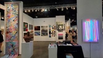 BG Gallery. LA Art Show, LA Convention Center; Photo credit Kristine Schomaker