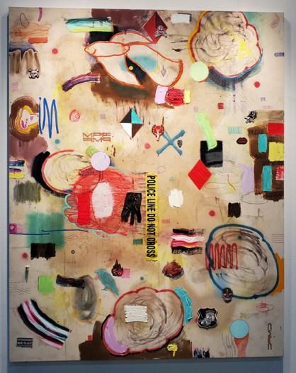 Max Presneill. LA Art Show, LA Convention Center; Photo credit Kristine Schomaker
