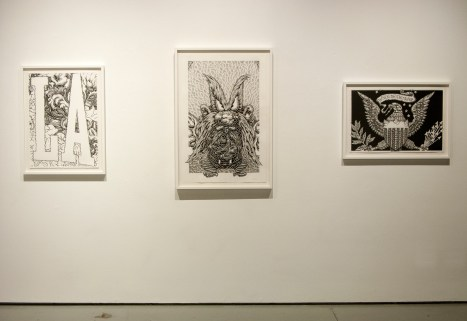 Graphic Subversion, Mike Curb College of Art Gallery at CSUN; Photo Credit Lesley Krane
