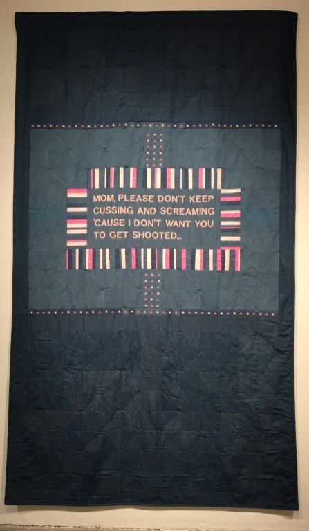 Lavialle Campbell, Dae'Anna's Quilt; Image courtesty of the artist
