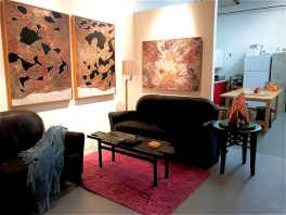 Eva Malhotra studio ; Image courtesy of the artist