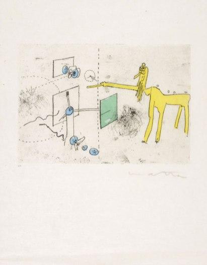 Roberto Matta, Paroles Peintes, Love in the Time of Corona, BG Gallery; Image courtesy of the artist