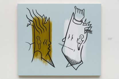 Don Suggs, Face-Off, Face-Off, L.A. Louver; Image courtsey of the gallery