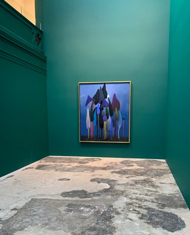 Nicolas Party, Sottobosco, Hauser & Wirth; Image courtesy of the gallery