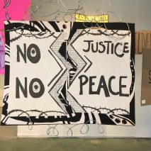 Kaitlin Ruby, Protest in Place, SoLA; Image courtesy of the gallery