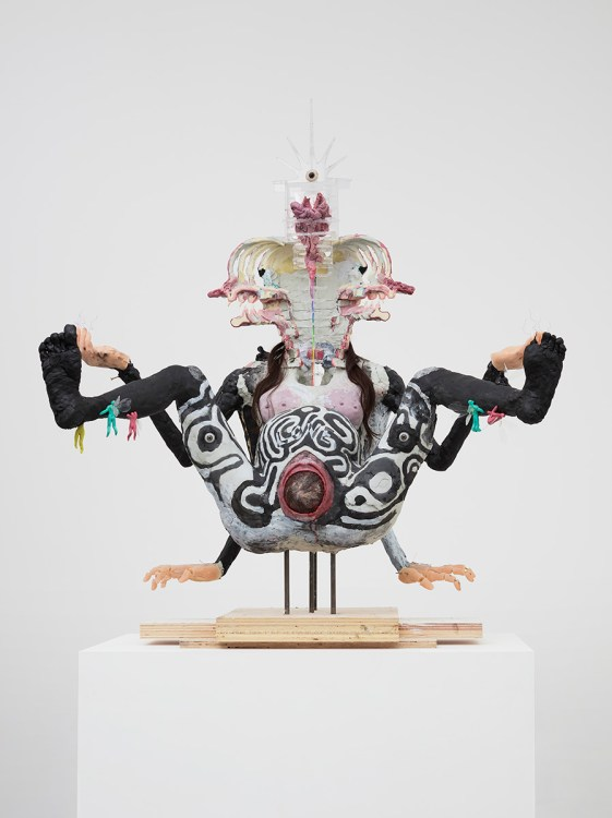 David Altmejd, The Enlightenment of the Witch, 2021, The Enlightenment of the Witch, David Kordansky Gallery; Photo credit Lee Thompson Courtesy of David Kordansky Gallery