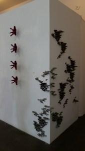 Joshua Levine Nature vs. Nurture at Red Pipe Gallery, Chinatown Los Angeles, California