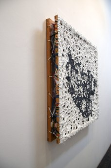 Artwork by James Richards in 'Hack the Analog' Photo by Kristine Schomaker located at Shoshana Wayne Gallery