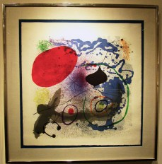 Joan Miro / 'Battement II'. Photo Credit Patrick Quinn