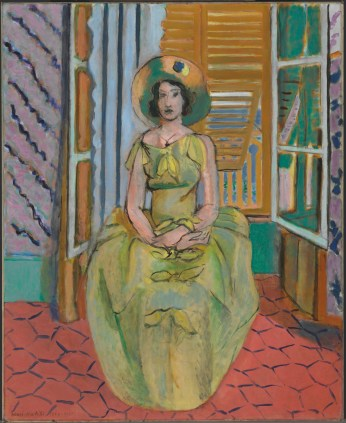 Henri Matisse. The Yellow Dress. 1929-31. The Baltimore Museum of Art. ©2016 Succession H. Matisse / ARS NY