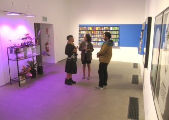 """Scott Benzel. ISBN-978-0-9913772-9-6. """"Ours Is A City Of Writers"""" at LAMAG. Photo Credit Patrick Quinn."""