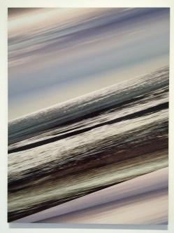 Masood Kamandy. The Effect of Lightning on a Rainbow. Luis De Jesus Los Angeles. Horizon (Light), 2017 Dye Sublimation on Aluminum 36 x 27 inches. Photo Credit Jody Zellen.