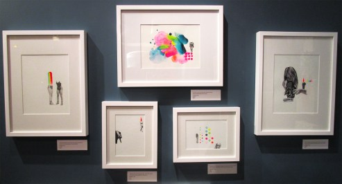Selected Works By Danielle Krysa. Girl Crush at The Good Eye Gallery. Photo Courtesy of Patrick Quinn.