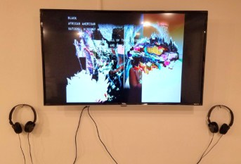 Cole James. Black Mirror. Charlie James Gallery. Photo Credit Jacqueline Bell Johnson.