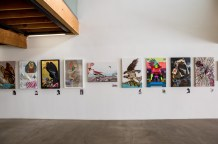 Birds of America: Explorations of Audubon: The Paintings of Larry Rivers and Others. Photo Courtesy of 101 Exhibit.