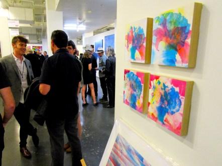 Clovis Blackwell. Expo Contemporary. Fabrik Expo. Photo Credit Patrick Quinn.