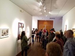 Diane Williams. Personal Narrative. Artist Talk. Annenberg Community Beach House Gallery. Photo Credit Kristine Schomaker.