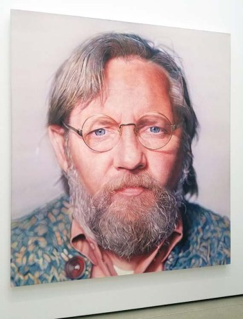 Chuck Close. The Broad. Photo Credit Kristine Schomaker