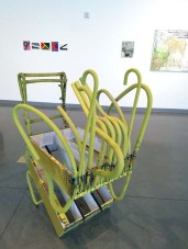 Coleen Sterritt. The Only Way Out Is In. Citrus College Art Gallery. Photo Credit Jackie Bell Johnson