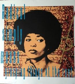 ICONIC: Black Panther. Gregorio Escalante Gallery, Los Angeles, CA. Richard Duardo + Lekit Im Radical 2014 Silkscreen print. Photo Courtesy of Sepia Collective and The Artist.