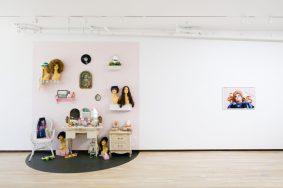 Genevieve Gaignard. The Powder Room. Photo Courtesy of Shulamit Nazarian Gallery.