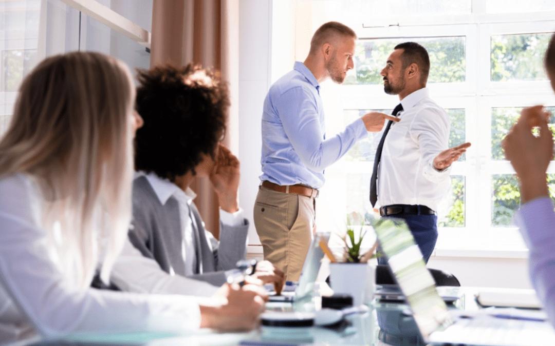 Πως να διαχειριστούμε και να επιλύσουμε τις συγκρούσεις στο χώρο εργασίας – 1