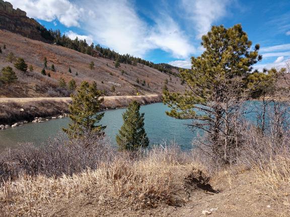 Her photos inspired me: Monument Lake, Colorado. Photo Credit: Jan Verhoeff