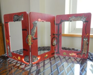 The finished frames