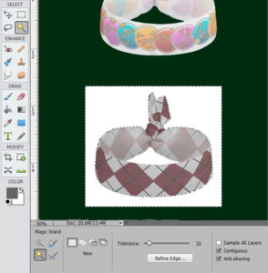Magic Wand Image Editing Tip: now you can use the Magic Wand to select just the background