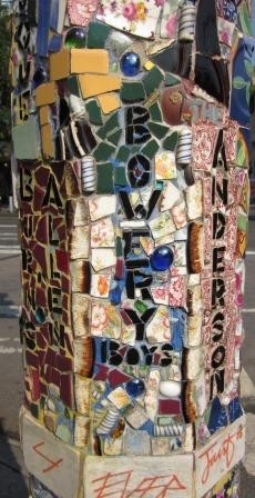The Bowery Boys, East Village, NYC - by The Mosaic Man